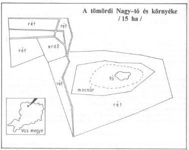 a Tömördi Madárvártához tartozó terület